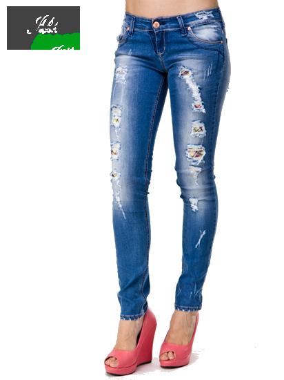 дырявые женские джинсы фото